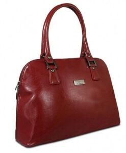 Torebka damska czerwona Italy Fashion