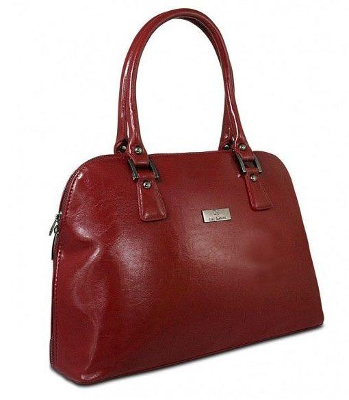 Torebka damska kuferek czerwona