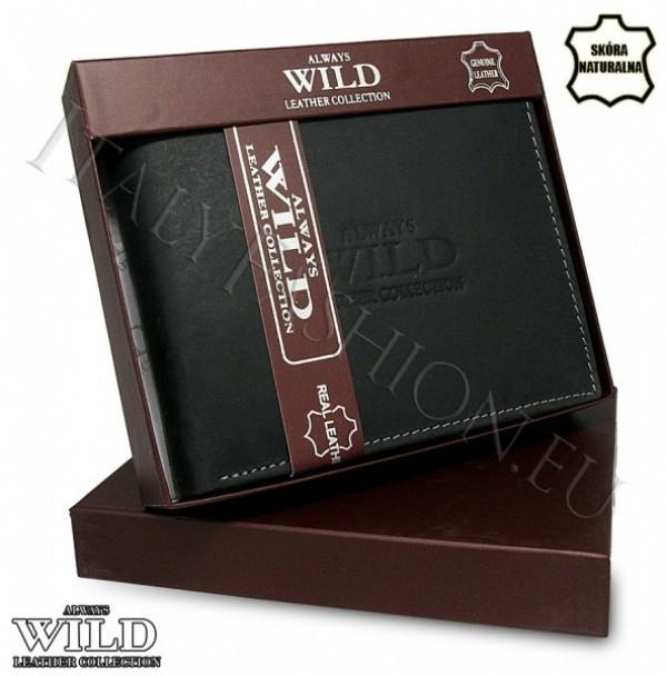 0577fe883d39b Męski skórzany portfel Always Wild – iTorebki.pl