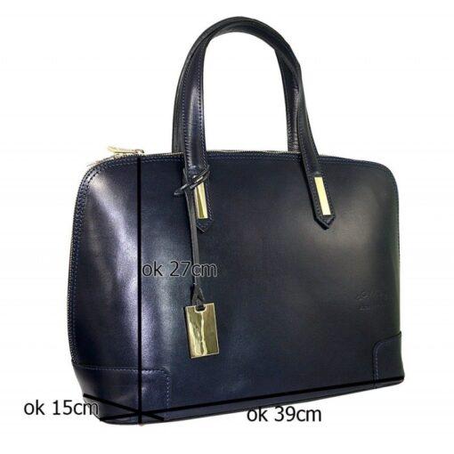 skórzana torebka włoska
