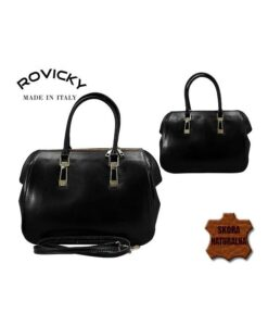 skórzana torebka włoska Rovicky