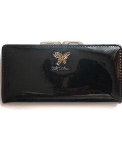 portfel damski lakierowany na bigiel
