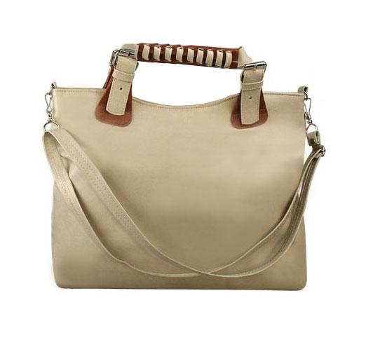 4a30c55ec473a5 Torebka damska beżowa duża pojemna a4. torba damska shopper bag