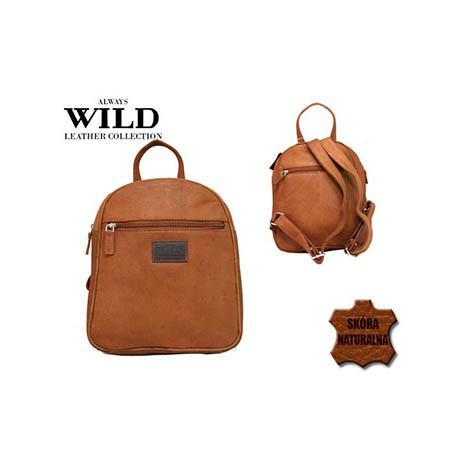Plecak skórzany camel Always Wild