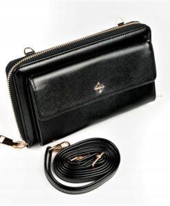 Portfel damski duży mini torebka saszetka Milano Design