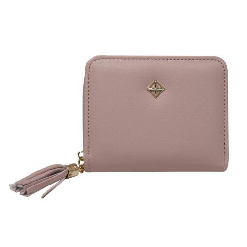 Niewielki portfel damski skóra eko marki Milano