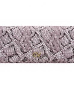 portfel różowy połyskujący