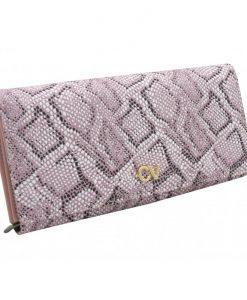 portfel damski różowy